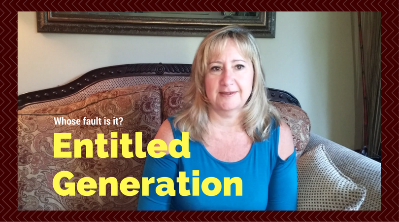 'Entitled Generation', whose to blame