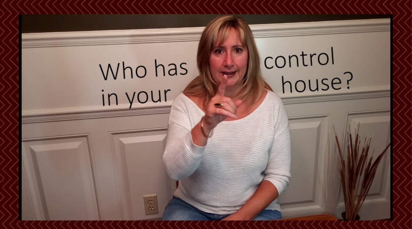 Who has control?