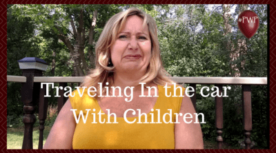 traveling in the car with children