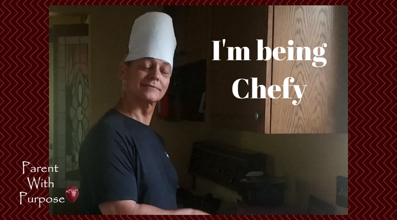 Obviously, anyone can be a chef.